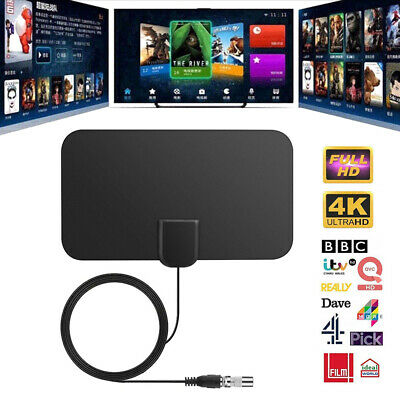 1/2 960 Miles Indoor Digital TV HDTV Antenna [2019 Latest] UHF/VHF/1080p 4K