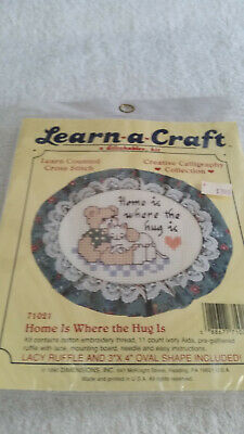 Dimensions Learn a Craft Counted Cross Stitch Kit ~ Farm Fresh Truck #72-75819