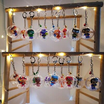 Handmade Marvel and DC Key Ring Key Chain from Thailand GIFT