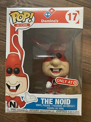 Funko POP! Ad Icons Dominos Pizza #17 The Noid! Target Exclusive! Rare!