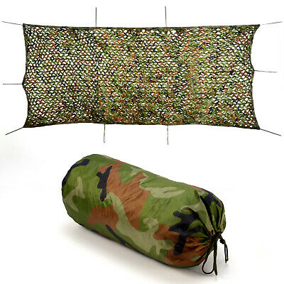 Camo Net Camouflage Netting Reversible Green/Brown Hunting/Shooting 8 Sizes New