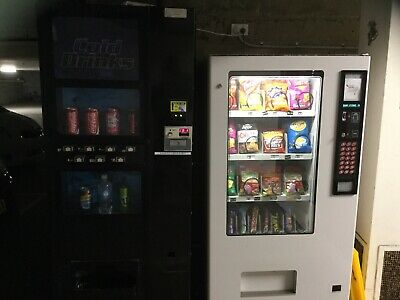 2x Vending Machines On Site 1 Snack 1 Drink