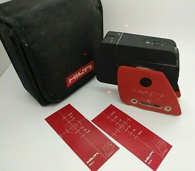 Used - HILTI PMP 34 Red - Dot Laser Level SELF-LEVELING - Item no. 319694 - Bag