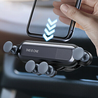 Universal Gravity Car Phone Holder Air Vent Mount Stand Cradle For Mobile Phone