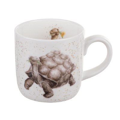 Wrendale Designs Mug Royal Worcester Fine Bone China Aged to Perfection Tortoise
