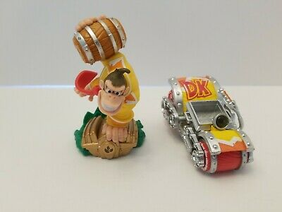 TURBO CHARGE DONKEY KONG & BARREL BLASTER Amiibo LOT Skylanders SuperChargers