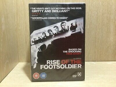 Rise of the Footsoldier DVD New & Sealed
