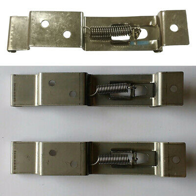 1 Pair Trailer Truck RV Number Plate Clips Holder Spring Loaded Stainless Steel