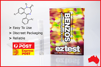 Ez Test Substance Test Kit For Benzo Identification [Australian Stock Fast Ship]