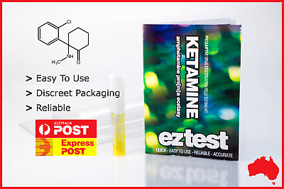 Ez Test Substance Test Kit For Ketamine Identification [Australian Stock]