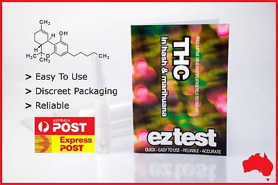 Ez Test Substance Test Kit For Thc Identification [Australian Stock Fast Ship]