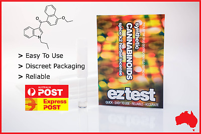 Ez Test Substance Test Kit For Synthetic Cannabinoids [Australian Stock]
