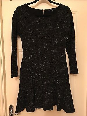 ❤️ Classic French Connection FCUK Sassy Black Dress Size 12