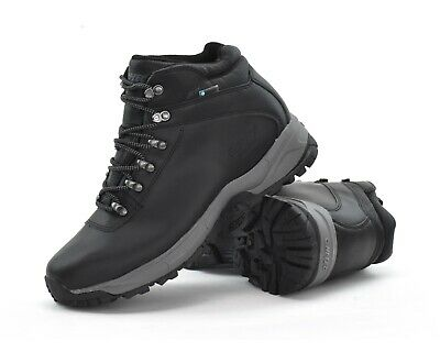 Hi-Tec EuroTrek Lite WP - Mens Waterproof Outdoor Hiking Boots - Black - New