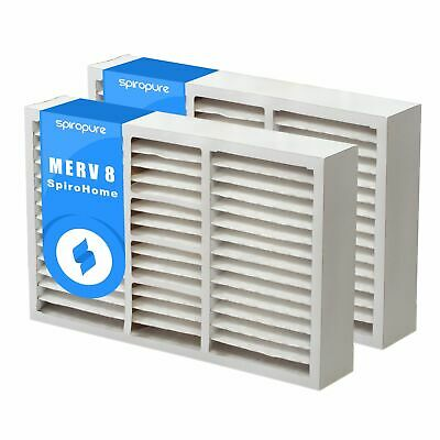 Nordic Pure 17x22x1 MERV 11 Pleated AC Furnace Air Filters 2 Pack