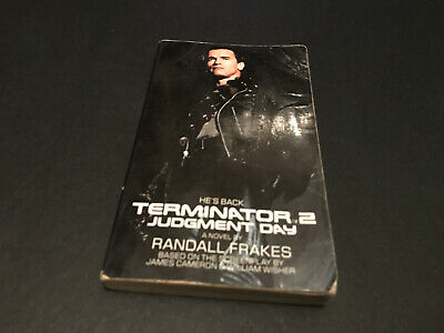 Terminator 2 Judgement Day Book Novel Film Tie-In 1991 Official Randall Frakes