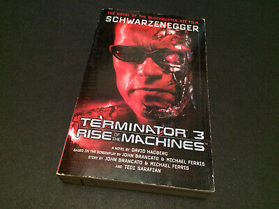 Terminator 3 Rise Of The Machines Book Film Tie-In 2003 Official David Hagberg