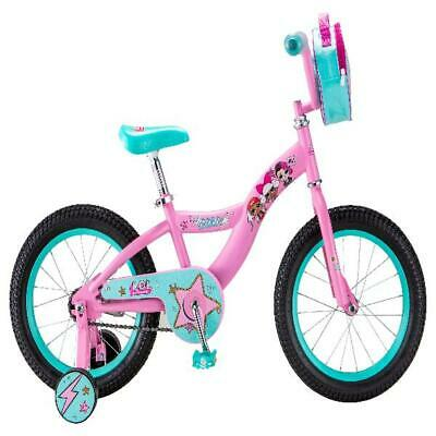 """Girl Bike 16"""" Kids Bicycle Adjustable Seat Home Outdoor Cycling Ride"""