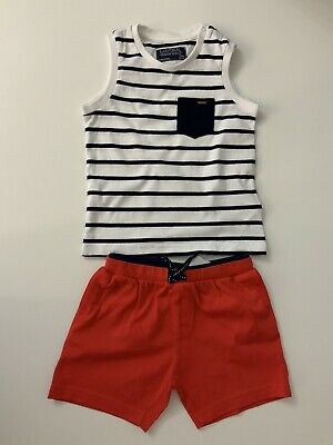 Mayoral Kids Outfit, Set, Shorts & T Shirt, Size Age 24 Months, Vgc,