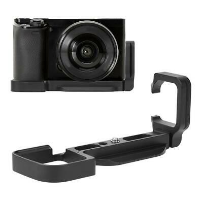 Aluminum Alloy Quick Release L-Shaped Bracket Hand Grip Holder for Sony A6000