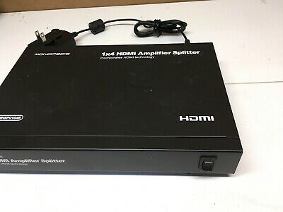 Monoprice 1x4 HDMI Amplifier Splitter WITH POWER ADAPTER (C10)
