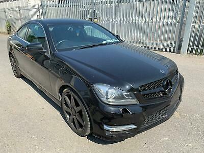 2014 Mercedes-Benz C220 CDI AMG Sport Plus STARTS+DRIVES SPARES OR REPAIRS