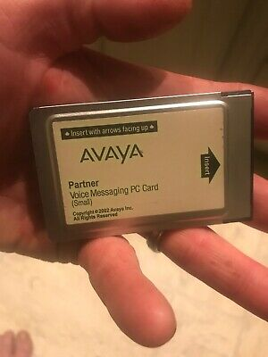 Avaya Partner Voice Messaging VoiceMail Small PC Card CWD3B 700226517