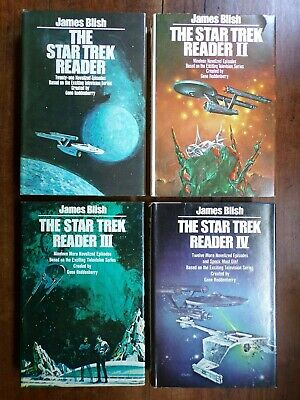 James Blish ~ The Star Trek Reader ~ Vols I-IV ~ HC ~ BCE
