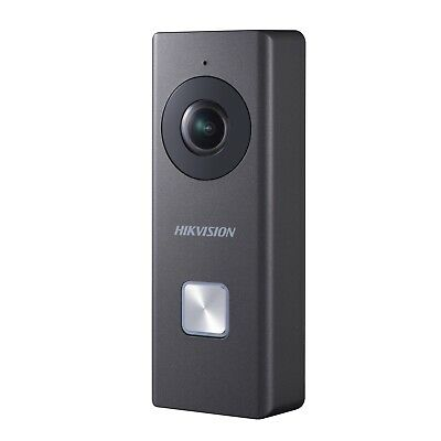 Hikvision Wi-Fi Video Doorbell DS-KB6403-WIP Surveillance CCTV - UK Version