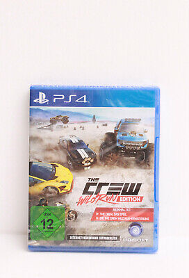 The Crew - Wild Run Edition (Sony PlayStation 4, 2015) USK12