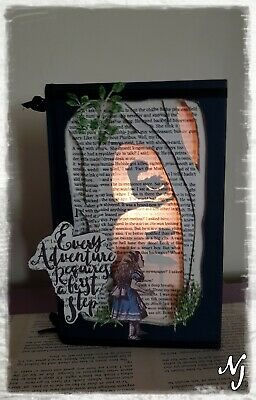 Alice in wonderland Night Light. Every adventure starts with a first step.