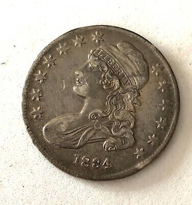 High End, 1834-  Genuine U.s. Bust Half Dollar- See Other Rare Coin Listings