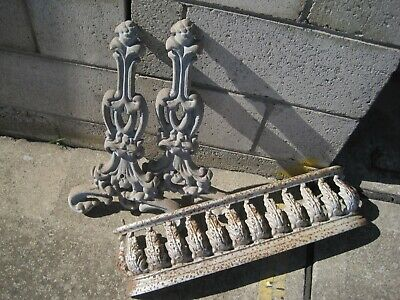 Antique Original Cast Iron  panels