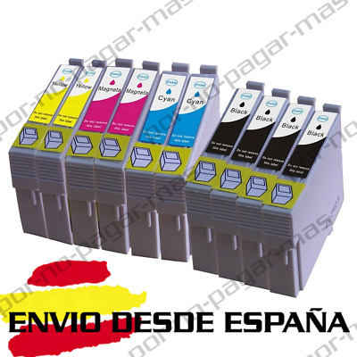Cartuchos Tinta Compatible No-Oem Epson Expression Home T1811 T1812 T1813 T1814