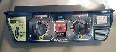 Virtual On Arcade Control Panel With Joysticks - Used Good Condition