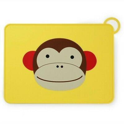 Skip Hop Zoo Fold & Go Kids Placemat - Monkey