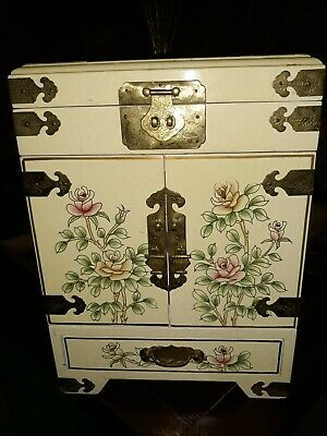Antique chinese lacquer Rare jewel box