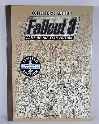 Fallout 3 Game of the Year Collector's Edition Prima Official Game Guide Sealed