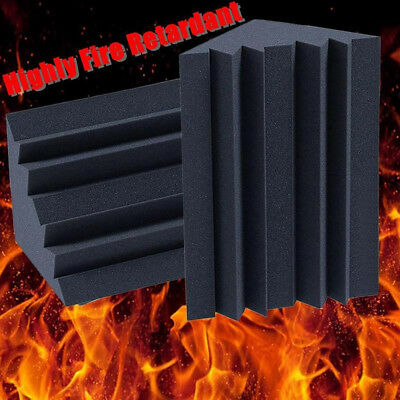 FT- Soundproofing Foam Acoustic Bass Trap Corner Absorbers for Meeting Studio Ro
