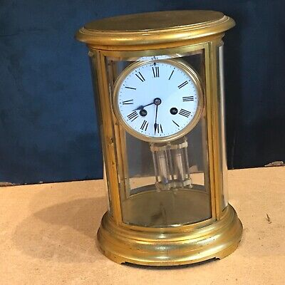 Superb french bevelled glass Japes Frees Victorian gilt framed clock