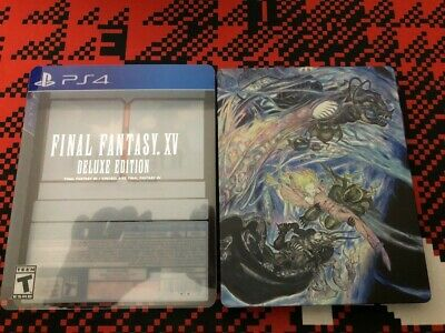 USED PS4 FINAL Fantasy XIV: Guren of Liberator Collector's Edition