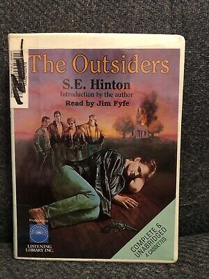 The Outsiders by S.E. Hinton--UNABRIDGED AUDIO CASSETTE TAPES