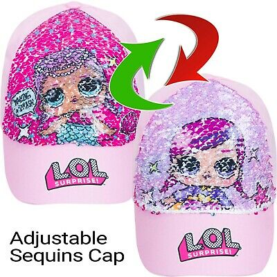 LOL SURPRISE 2 way sequin hat 3-6 years 7-10 years