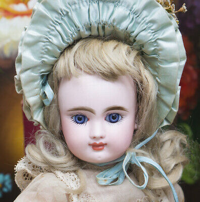 "14"" Antique French Doll with Closed Mouth by Gaultier Freres in Appealing Size"