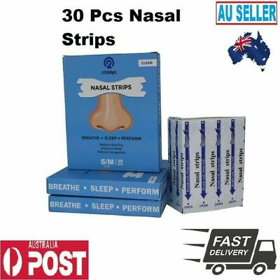 30Pcs Expanding Cavity Stop Anti Snore Device Scientific Physical Nasal Strips