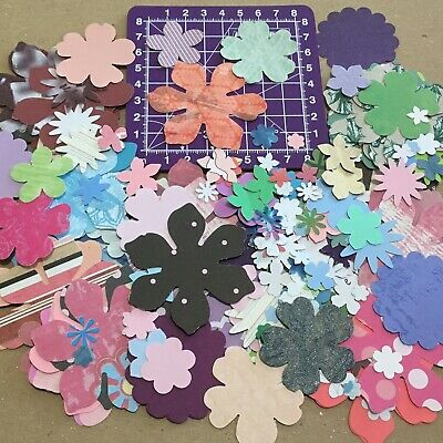 Scrapbooking Paper Punchies Mixed Flowers