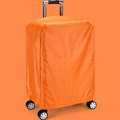 Solid Color Trolley Suitcase Dust Proof Luggage Case Waterproof Protective Cover