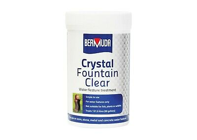 Bermuda Crystal Fountain Clear Water Feature Treatment Water Feature Cleaner