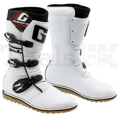 Gaerne Balance Trials Boot - White - Special Low Price