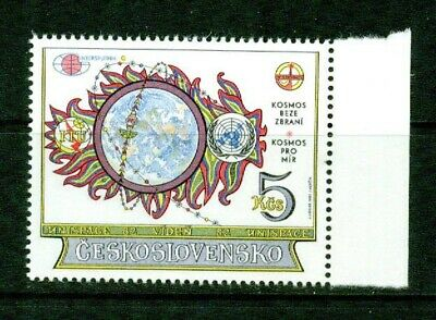 Czechoslovakia  - 1982  – Outer Space Conf. -  Vf  **